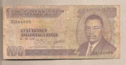Burundi - Banconota Circolata Da 100 Franchi - 2001 - Burundi