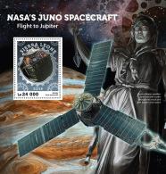 SIERRA LEONE 2016 ** NASA Juno Spacecraft Flug Zum Jupiter S/S - OFFICIAL ISSUE - A1628 - Africa