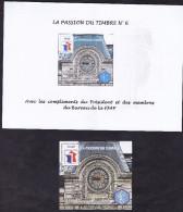BLOC FEUILLET FFAP N°6 LA PASSION DU TIMBRE ** COTE 12E - FFAP