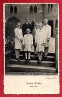 Château De Berg, Avril 1939. Les Princes Jean Et Charles, Les Princesses,Elisabeth,Marie-Adélaide, Marie-Gabrielle, Alix - Familias Reales