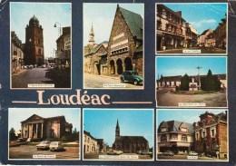 22 - LOUDEAC - Multi Vues - Loudéac