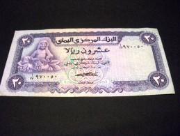 YEMEN 20 Rial 1973, Pick KM N° 14 , YEMEN ARAB REPUBLIC - Yémen