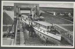 Pc´ D A_11_589 SaA Magdeburg Rothensee Schiffshebewerk Ship Saxonia # 1939 Magdeburg ¬ Mi 516 - Magdeburg