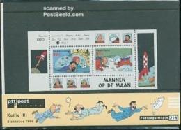 Netherlands 1999 Tin Tin S/s, Presentation Pack 216, Mint NH, Art - Comics (except Disney) - Tin Tin - 1980-... (Beatrix)