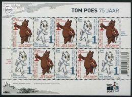 Netherlands 2016 75 Years Tom Poes, Marten Toonder Minisheet, Mint NH, Comics (except Disney) - Cats - Art - Nature - 2013-... (Willem-Alexander)