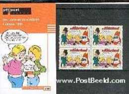 Netherlands 1998 Jan Jans, Presentation Pack 198, Mint NH, Art - Comics (except Disney) - 1980-... (Beatrix)