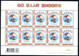 Netherlands 2010 Personal Christmas Stamp M/s, Mint NH, Art - Comics (except Disney) - Religion - Christmas - Sport .. - 1980-... (Beatrix)