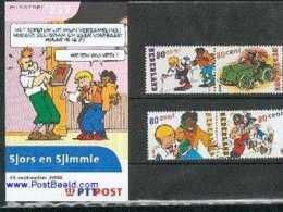 Netherlands 2000 Sjors & Sjimmie Presentation Pack 232, Mint NH, Art - Comics (except Disney) - 1980-... (Beatrix)