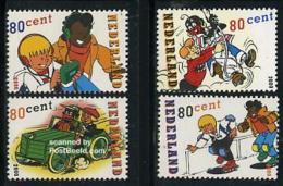 Netherlands 2000 Comics, Sjors & Sjimmie 4v, Mint NH, Transport - Automobiles - Art - Comics (except Disney) - 1980-... (Beatrix)