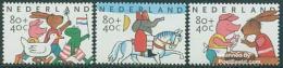 Netherlands 1998 Child Welfare 3v, Mint NH, Art - Comics (except Disney) - Nature - Frogs & Toads - Duck.. - 1980-... (Beatrix)
