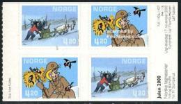 Norway 2000 Comics 2x2v S-a, Mint NH, Art - Comics (except Disney) - Religion - Christmas - Norvège