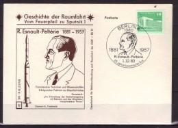 Allemagne - République Démocratique - Conquête Spaciale - Sputnick 1 - Esnault-Peltérie (1881-1957) - Machine Stamps (ATM)