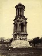 France Mausolée De Glanum Tombeau De Saint Remy De Provence Ancienne Photo 1890 - Old (before 1900)