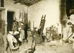 France Moulis Grand Poujeaux Vendangeurs Vin Chasse Spleen Ancienne Photo 1930 - Professions