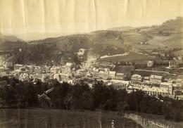 France Auvergne La Bourboule Et Le Mont Dore Panorama Ancienne Photo 1890 - Photos