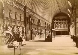 France Oise Pierrefonds Château Salle Des Armures Ancienne Photo 1890 - Photographs