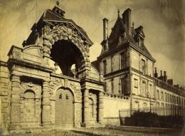 France Fontainebleau Le Baptistere Architecture Ancienne Photo 1890 - Photographs