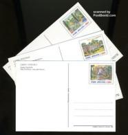 Vatican 1988 Postcard Set 550L, Gandolfo Castle, (Unused Postal Stationary) - Vatican
