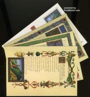 Vatican 1993 Postcard Set 700L, Horaz, (Unused Postal Stationary), Art - Authors - Vatican