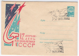 Lithuania USSR 1963, Canceled In Vilnius, Cosmonaut Cosmonauts Cosmos Space Rocket - Lithuania