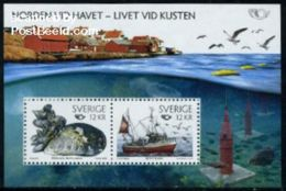 Sweden 2010 Norden S/s, Mint NH, Transport - Ships & Boats - History - Europa Hang-on Issues .. - Nuevos