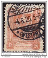 Marienwerder 1920, Plebiscite Issue, 20pf, Used - Germany