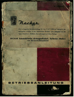 Betriebsanleitung / Handbuch  Fiat 1100 Export-Limousine / Spezial-Limousine / Kombiwagen -  Heftausgabe Von Ca. 1965 - KFZ