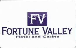 Fortune Valley Casino Central City, CO - Slot Card - Last Line Reverse Starts ´non-transferable´ - Casino Cards