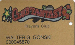 Fantasy Springs Casino - Indio, CA - 3rd Issue Slot Card - PPC Over Mag Stripe - Casino Cards
