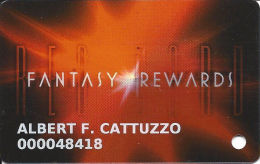 Fantasy Springs Casino - Indio, CA - Slot Card With Hologram Front - Casino Cards