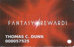 Fantasy Springs Casino - Indio, CA - Slot Card With Normal Front - No Num Ber Over Mag Stripe - Carte Di Casinò