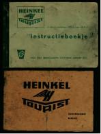 Heinkel Tourist Roller 175 Cc Type 103 A - 2  Betriebsanleitung / Handbuch / Instructieboekje - Heftausgabe Von Ca. 1960 - KFZ