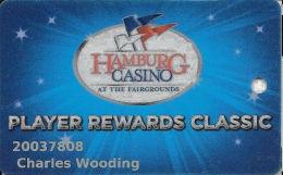 Hamburg Gaming / Casino - Buffalo Raceway - Hamburg, NY - Slot Card (very Worn/dirty) - Casino Cards