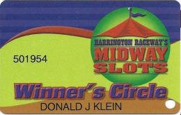 Harrington Raceway Midway Slots - Harrington, DE - Slot Card - Casino Cards