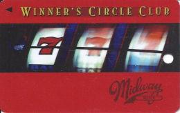 Harrington Raceway Midway Slots - Harrington, DE - Slot Card  (BLANK) - Casino Cards