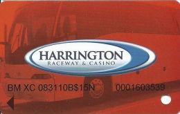 Harrington Raceway Midway Slots - Harrington, DE - Special Bus Card - Casino Cards