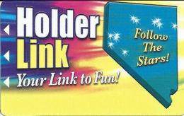 Holder Link Casinos - Nevada - Slot Card - 5 Lines Of Casinos Listed On Back  (BLANK) - Casino Cards