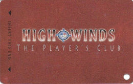 High Winds Casino - Miami, OK - Slot Card  (BLANK) - Casino Cards