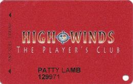 High Winds Casino - Miami, OK - Slot Card - Casino Cards