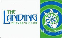 Havasu Landing Casino - Havasu Lake, CA - 1st Issue Slot Card - 2 Tone Light Green Swirls (BLANK) - Casino Cards