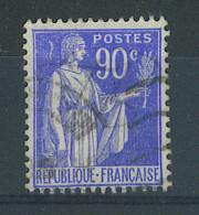 VEND BEAU TIMBRE DE FRANCE N°368 , TACHE BLANCHE DERRIERE LA TETE !!!! - 1932-39 Peace