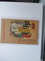 1906 Viaggiata Raphael  KIRCHNERLA GUERRE AMUSANTE PAIX Scritta Al Davanti Ed Al Verso - Kirchner, Raphael