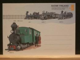61/195  CP   FINLANDE  XX - Trains
