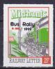 GB Railway Letter Stamp Mid Hants 0/p Bus Rally Line   Train - Treni