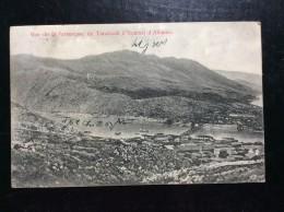 ALBANIA   POSTCARD   NICE CANCEL.   1913.   TARABOSH  A SCUTARI - Albanie