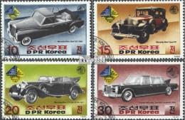 Nord-Corée 2697-2700 (complète.Edition.) Oblitéré 1985 Bourse De Timbres Sud-ouest '85 - Corea Del Nord