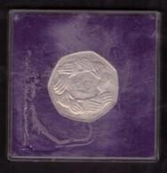 THE UNITED KINGDOM - JAN 1 1973 - COMMEMORATIVE COIN -  50 PENCE - EEC - ORIGINAL PACKET - IN CONFEZIONE ORIGINALE - - Monete