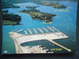 CP - Estuaire De La Rivière PONT L'ABBE - DOURDY - Port De LOCTUDY - Pointe De L'ILE TUDY - Loctudy