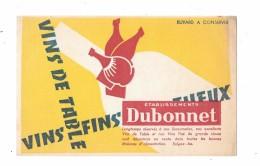 BUVARD Vins De Table DUBONNET - Buvards, Protège-cahiers Illustrés