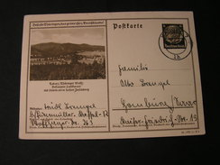 DR Bildkarte Tabarz , Stempel Kassel 7 Jahr 1942 - Deutschland